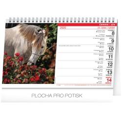 Stolní kalendář Koně - Kone 2020