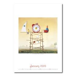 Nástěnný kalendář 2020 - Art Naive