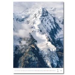 Nástěnný kalendář 2020 Mountains-Berge-Hory