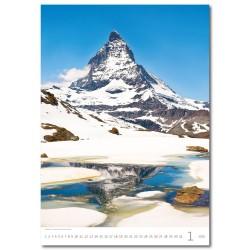 Nástěnný kalendář 2020 Alps