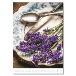 Nástěnný kalendář 2020 Provence