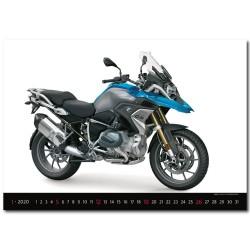 Nástěnný kalendář 2020 Motorbikes