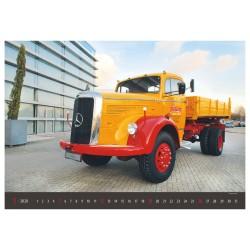Nástěnný kalendář 2020 Old Trucks - Martin Felix