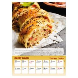 Nástěnný kalendář 2020 Česká kuchařka