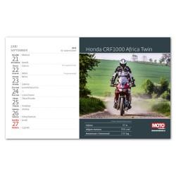 Stolní kalendář 2020 Motorky ČR-SR