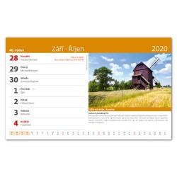 Stolní kalendář 2020 Technické památky ČR