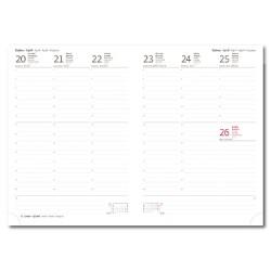 Diář 2020 týdenní B5 PRINT CLASSIC - zelená
