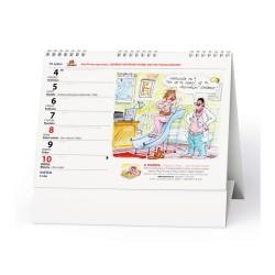 Stolní kalendář 2020 URBAN - Ruda Pivrnec průvodce rokem