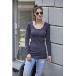 Dámské strečové tričko dl.rukáv Tee Extra Lenght - Výprodej