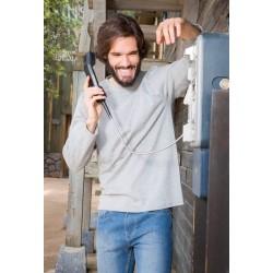 Pánské tričko Regular dlouhý rukáv - Výprodej