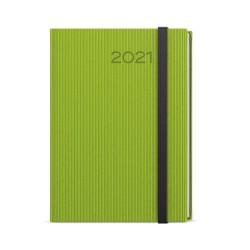 Týdenní diář 2021 Oskar Vigo A5 - zelená