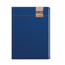 Týdenní diář 2021 Oskar Denim A5 - modrá