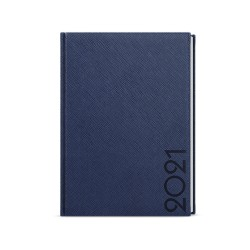 Týdenní diář 2021 Oskar Tora A5 - modrá