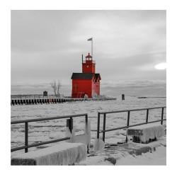 Nástěnný poznámkový kalendář 2021 Black&Red