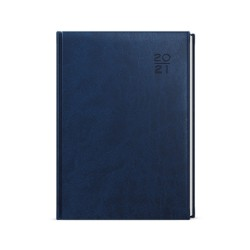 Týdenní diář 2021 Prokop Vivella B6 - modrá