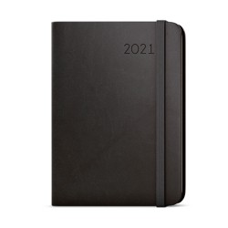 Týdenní diář 2021 Zoro Flexi s poznámkami A5 - černá