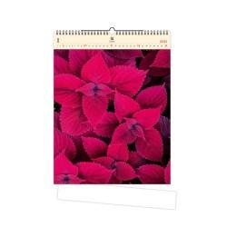 Nástěnný dřevěný kalendář 2021 - Leaves