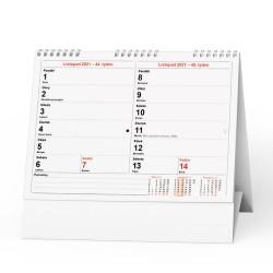 Stolní kalendář 2021 Pracovní kalendář Čtrnáctidenní