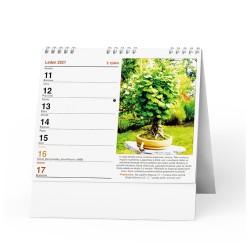 Stolní kalendář 2021 IDEÁL - Zahrádkářský kalendář