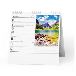 Stolní kalendář 2021 IDEÁL - Příroda, hory, řeky, jezera…