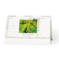 Stolní kalendář 2021 Víno