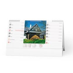Stolní kalendář 2021 Chalupy