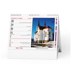 Stolní kalendář 2021 Katolický kalendář