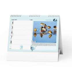 Stolní kalendář 2021 Rybářský kalendář