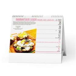 Stolní kalendář 2021 Zdravé snídaně & smoothie