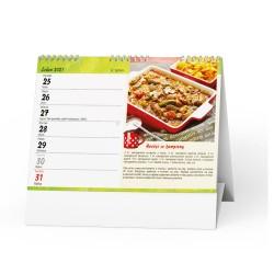 Stolní kalendář 2021 Hrníčková kuchařka
