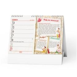 Stolní kalendář 2021 Chytrá žena