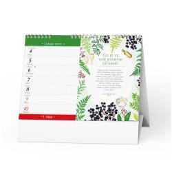 Stolní kalendář 2021 Domácí lékárna Renaty Herber
