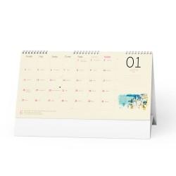 Stolní kalendář 2021 Měsíční stolní kalendář