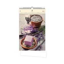 Nástěnný dřevěný kalendář 2021 - Provence