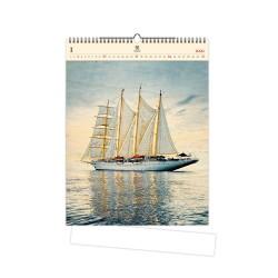 Nástěnný dřevěný kalendář 2021 - Design
