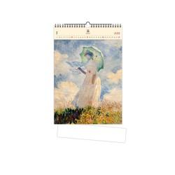 Nástěnný dřevěný kalendář 2021 - Monet