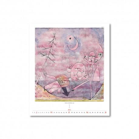 Nástěnný kalendář 2021 - Paul Klee