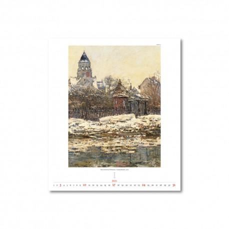 Nástěnný kalendář 2021 - Impressionism