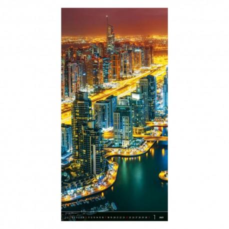 Nástěnný kalendář 2021 - Above the City