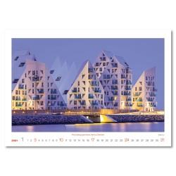 Nástěnný kalendář 2021 - Modern Architecture