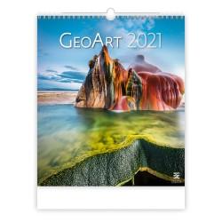 Nástěnný kalendář 2021 - Geo Art