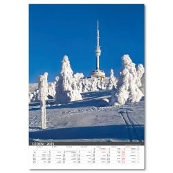 Nástěnný kalendář 2021 - Morava/Moravia/Mahren