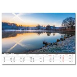 Nástěnný kalendář 2021 - Česká krajina