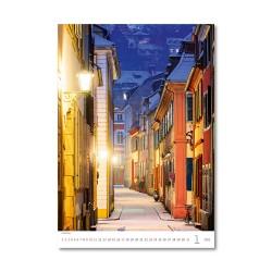 Nástěnný kalendář 2021 - Old Street
