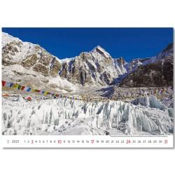 Nástěnný kalendář 2021 - National Parks