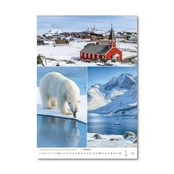 Nástěnný kalendář 2021 - Postcard from....