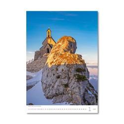 Nástěnný kalendář 2021 - Alps