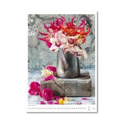 Nástěnný kalendář 2021 - Magic Flowers/Magische Blumen/Živé květy