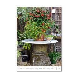 Nástěnný kalendář 2021 - Romantic Corners