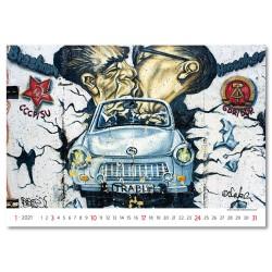 Nástěnný kalendář 2021 - Street Art